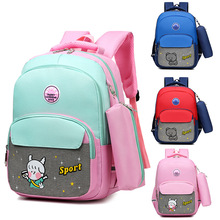 Kids Backpack Cartoon Children School Bags Girls Sweet Kids School Backpack Lightweight Waterproof Primary Schoolbags Big