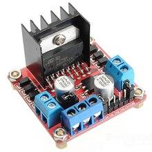 L298N Двойной H Мост шаговый двигатель драйвер платы DC шаговый двигатель привод плата контроллера модуль для Arduino