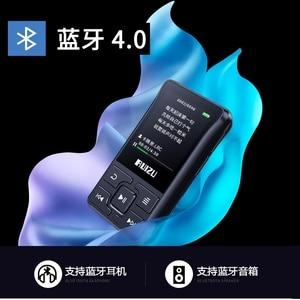 Image 4 - Original RUIZU X55 X52 Clip Sport Bluetooth MP3 Player 8gb Mini MP3 Support FM,Recording,E Book,Clock,Pedometer Music Player