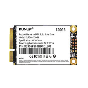 msata ssd 64G 128G 256G Solid State Drive Internal Hard Disk hdd for Laptop Desktop MSI Asrock