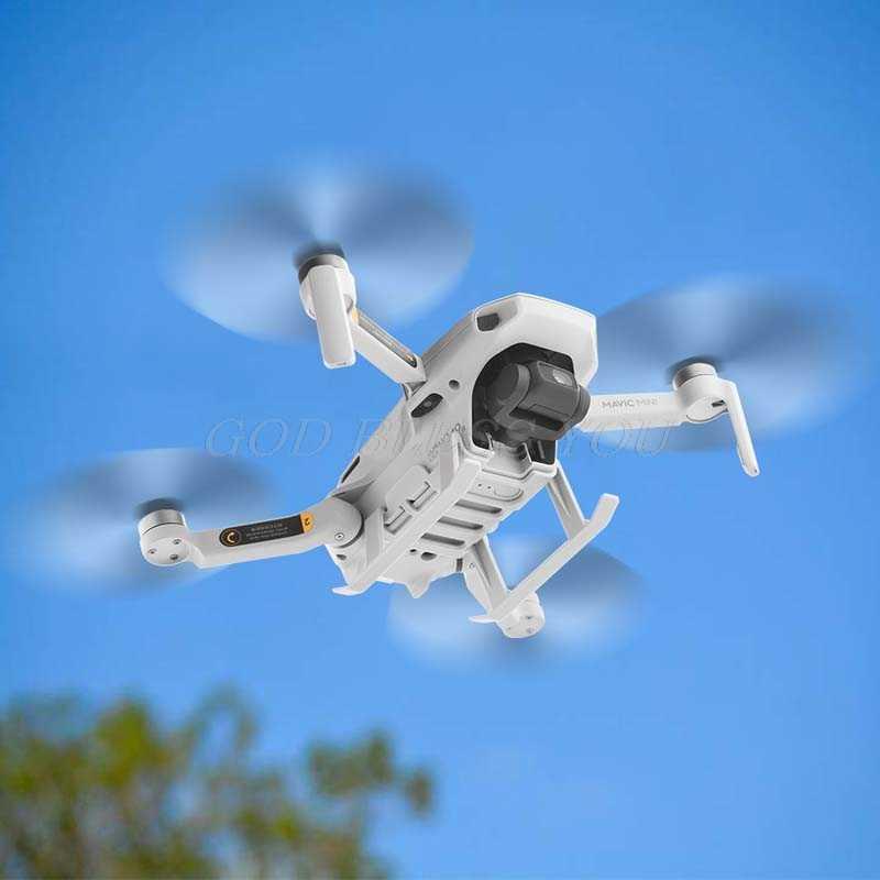 Drone Landing Gear For DJI MAVIC Mini Diperpanjang Bracket Tray Lensa Gimbal Perlindungan Rilis Cepat Tinggi Berdiri Aksesoris