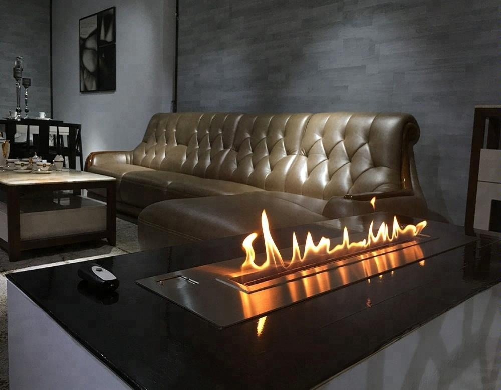 Inno-living Fire 18 Inch Real Fire Automatic Intelligent Smart Ethanol Stainless Steel Burner