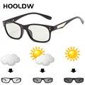 Очки солнцезащитные HOOLDW для мужчин и женщин UV-400, фотохромные поляризационные, антибликовые, для вождения