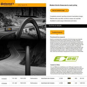 Image 5 - קונטיננטל ULTRA ספורט III ספורט מירוץ 700*23/25C 28c 35c חצץ כביש אופני צמיג מתקפל אופניים צמיגים גרנד ספורט מירוץ