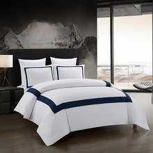 Yimeis Bed Linen Set Geometric Bedding Set Stitching Comforter Bedding Double Bed Luxury BE45005(China)