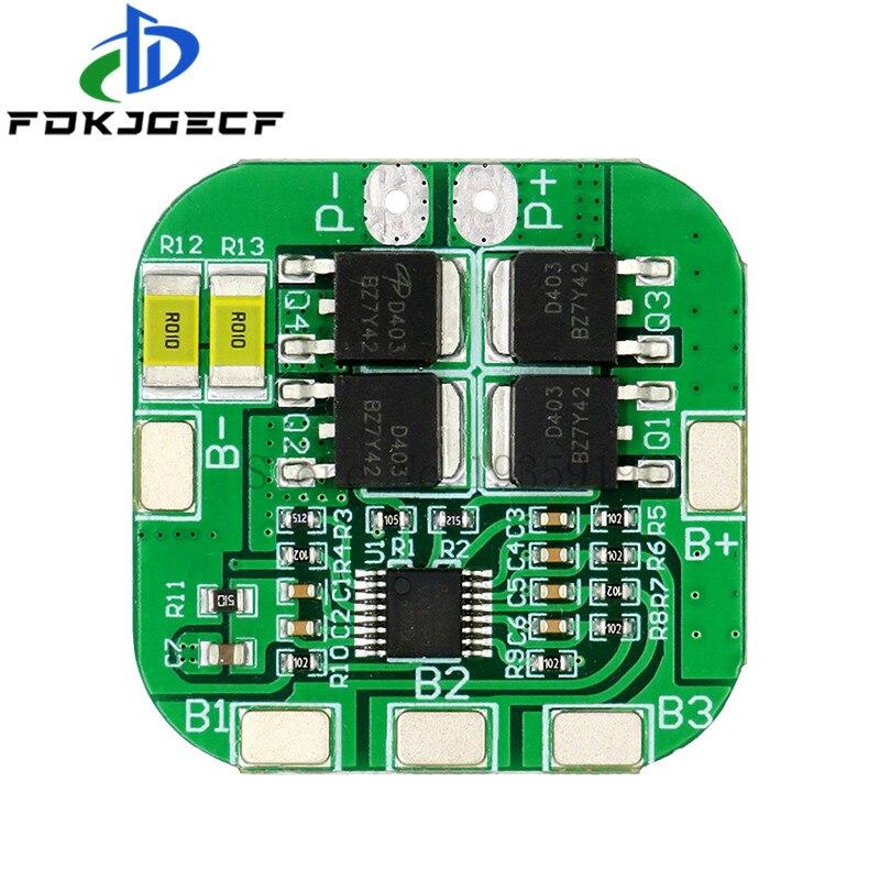 4S 14,8 V/16,8 V 20A пиковая литий ионная BMS PCM плата защиты батареи bms pcm для литиевых LicoO2 Limn2O4 18650 li батарея|Интегральные схемы|   | АлиЭкспресс