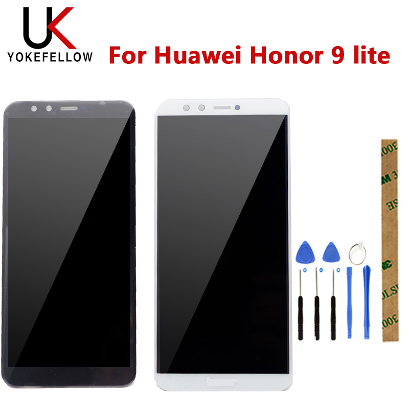 Tested LCD For Huawei Honor 9 lite LCD Display Touch Screen Digitizer LCD Display for Huawei Honor 9 Lite Replacement DisplayMobile Phone LCD Screens   -