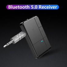 Bluetooth 5.0 Receiver Transmitter 3.5mm AUX Jack RCA A2DP Stereo Music 2 IN 1 Wireless Adapters For Car Home Stereo TV Speaker(China)