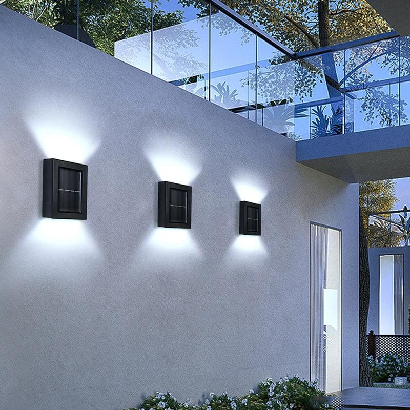 luz para cima e para baixo jardim