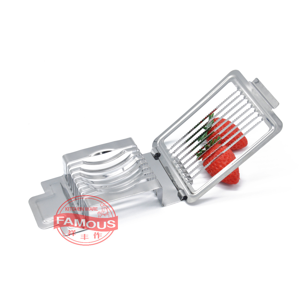 Kitchen Multi-functional Stainless Steel Slicer Multi-function Slicing Machine Fruit Cutter Strawberry Dividers Cutter