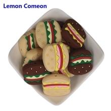 Lemon Comeon Hamburger Teething Beads BPA Free Baby Teether DIY Craft Pacifier C