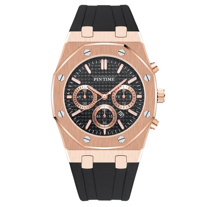 Fashion Quartz Mens Watches Top Brand Luxury Rubber Army Military Watch Men Sport Gold Date Clock Relogio Masculino Reloj Hombre