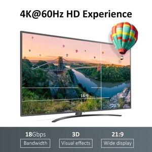 Image 2 - Przedłużacz HDMI do HDMI High Speed 2.0 pozłacane połączenie długi kabel przewód 1.5M 2M 3M 5M dla UHD FHD 3D Xbox PS3 PS4