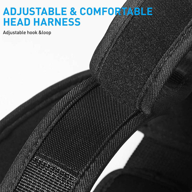 Head Neck Training Head Harness Body Strengh Exercise Strap Adjustable Neck Power Training Gym Fitness Weight Bearing cap 6