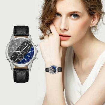 Niebieskie światło szklane damskie zegarki Casual klasyczne zegarki luksusowe prostota bransoletka na rękę moda dojrzałe zegarki damskie zegarki tanie i dobre opinie Cyfrowy Klamra CN (pochodzenie) Stop Nie wodoodporne Moda casual 20mm ROUND Brak Szkło None 23cm Nie pakiet Skórzane