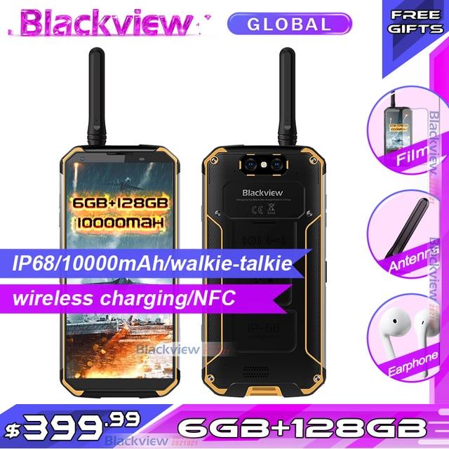 Смартфон Blackview BV9500 Pro, экран 5,7 дюйма 18:9, 10000 мАч, влагозащита IP68, 6 ГБ 128 ГБ, беспроводная зарядка, мобильный телефон глобальной версии