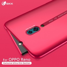 GKK Slim Original Case For OPPO Reno 2 ace Case 2 in 1 Full Protection Anti knock Back Matte PC Cover for OPPO Reno 2 ace Coque