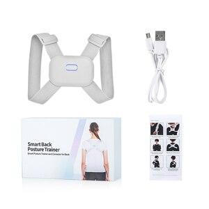 Image 5 - Smart Back Posture Corrector Back Pain Relief Support Spine Waist Straps Posture Correction Silver Belt For Men Women Kids