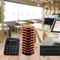 RETEKESS TD156 FM пейджер для ресторана Беспроводная система вызова пейджер официанта для ресторана Кофейня Клиника оборудование для очереди