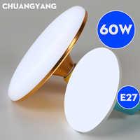 Ahorro de Energía E27 Led Bombilla SMD5730 2835 15W 20W 30W 40W 50W 60W ampolla bombilla lámpara Super brillante UFO lámpara para el hogar