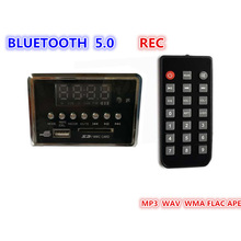 3,7-5 в USB FM магнитола с AUX MP3-плеером интегрированный USB автомобильный громкой связи Bluetooth MP3 декодер плата модуль дистанционного управления для автомобиля