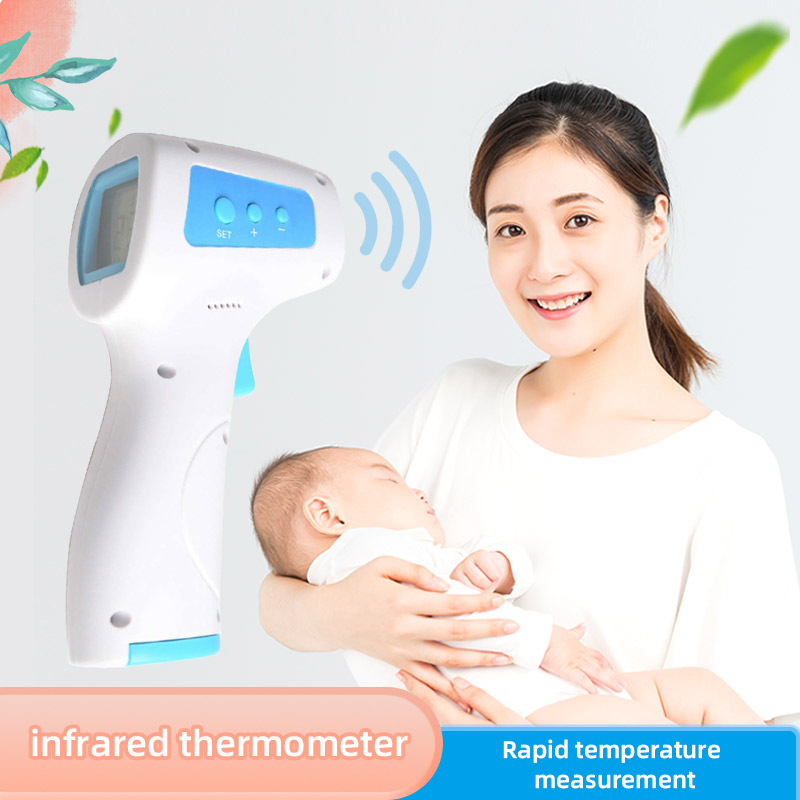 Infrared Electronic Thermometer Frontal Temperature Gun Non-contact Infrared Temperature Gun Thermometer CE Export Yhky-2000