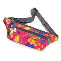 Sac de ceinture de sport de plein air, imperméable, multicolore, à la mode, pour course à pied, équitation, téléphone portable, Fitness, Gym