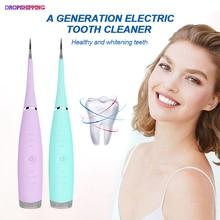 Электрический Ультра звуковой зубной скалер зуб Calculus удалитель очиститель от зубных пятен зубной камень инструмент отбелить зубы зубной камень