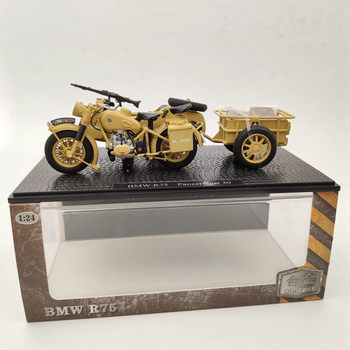 For B~W R75 Panzerfaust 30 Motorcycle World War II Diecast Model Collection Gifts Toys 1/24