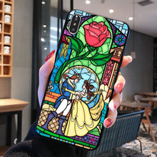Beauty and Beast Cover Case for iPhone 11 Pro X XS Max XR 7 8 6 6S Plus 5 5S SE Samsung Galaxy Note 8 9 10 S8 S9 S10 Plus S10E(China)