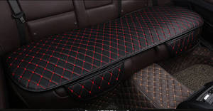 Image 5 - Four season Leather Car Seat Cover Cushion Front Rear Backseat Seat Cover Auto Chair Seat Protector Mat Pad Interior Accessories