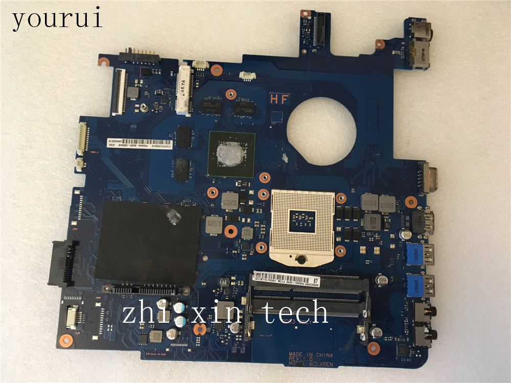 yourui For Samsung NP550 NP550P5C Laptop motherboard BA92-09094A BA92-09094B DDR3 Test work perfect image