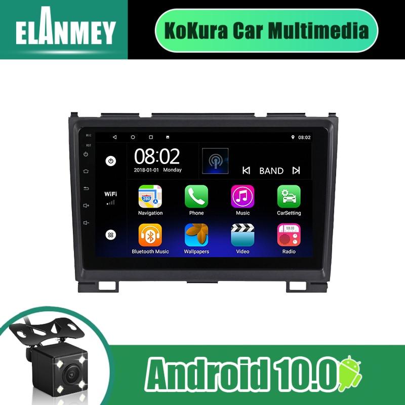 2 Din Автомобильный Радио навигатор GPS Bt плеер 9 дюймов экран для Haval Hover Great Wall H5 H3 2010 2012 Android 10 стерео головное устройство Мультимедиаплеер для авто      АлиЭкспресс