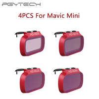4 Pcs Nd Lens Filtri per Dji Mavic Mini Nd 8 16 32 64 Pl Set Kit Filtro Filtro per dji Mavic Mini ND8 ND16 ND32 ND64 Pl