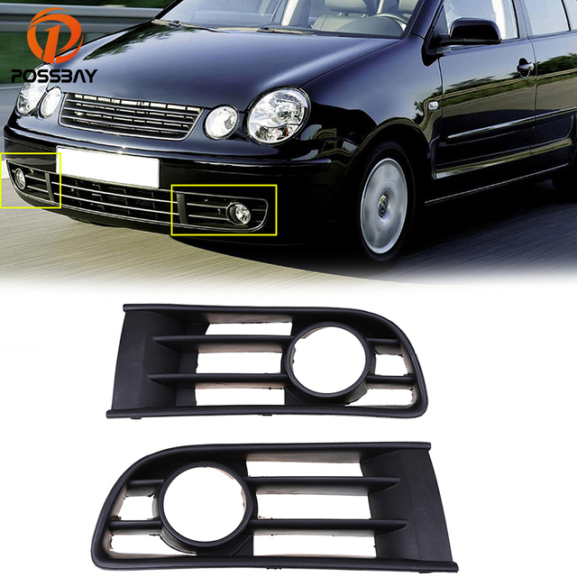 VW Polo 6N2 GTI Right Lower Grill Honeycomb Fog Light Cover ...