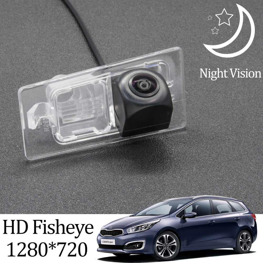 Owtosin HD 1280*720 рыбий глаз камера заднего вида для Kia Ceed SW JD 2012 2013 2014 2015 2016 2017 аксессуары для парковки автомобиля