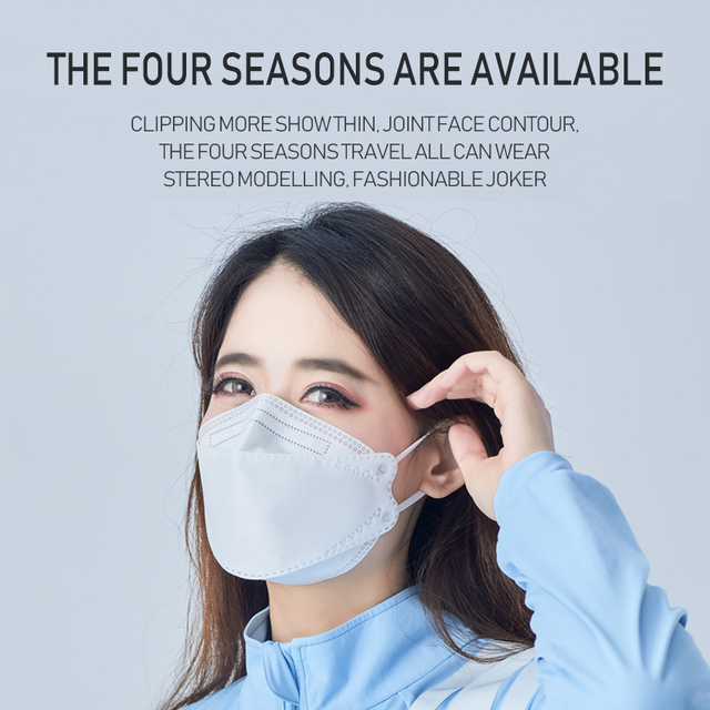 1PCS N95 5 Layers Mask Antivirus Flu Anti Infection KN95 Masks Particulate Respirator PM2.5 Protective Safety Same as KF94 FFP3 3