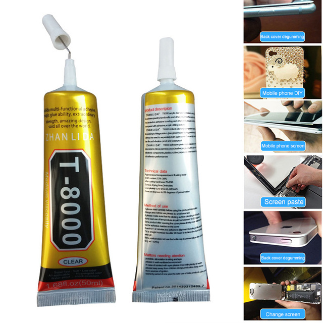 1 Pcs 15ml T8000 Repair Liquid Glue Multi Purpose Glue for Touchscreen Phone Frame Epoxy Adhesive DC156