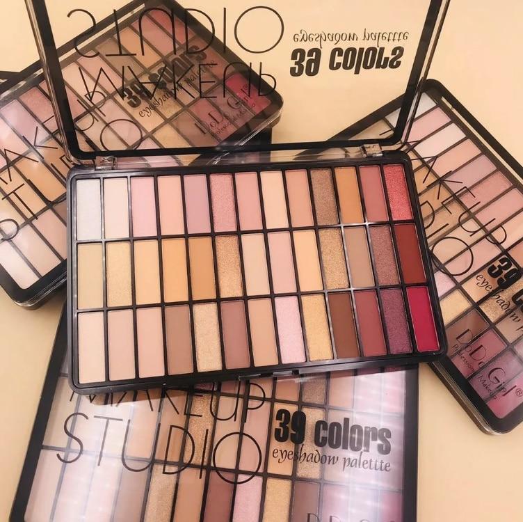 Большая палетка теней MAKEUP STUDIO (39 оттенков)|Наборы для макияжа| | АлиЭкспресс
