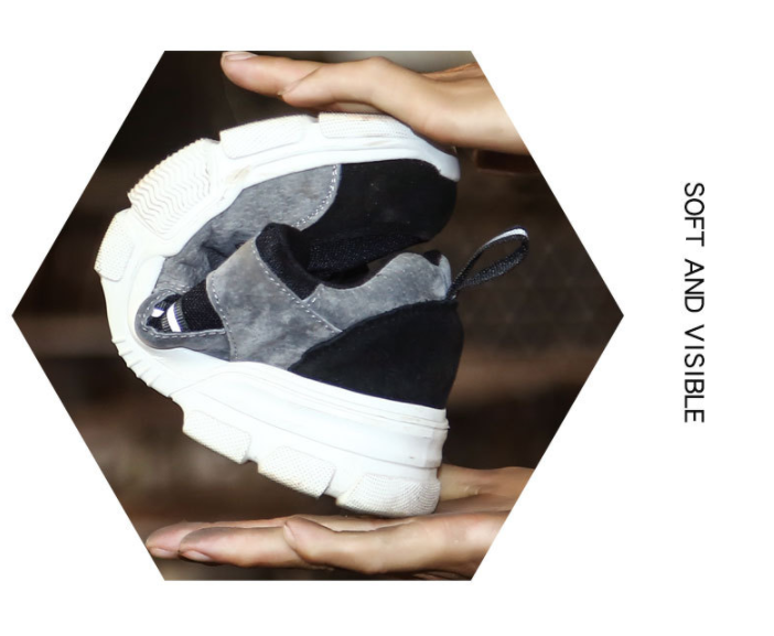 Unisex Klasik Lüks Tasarımcı Moda Çizmeler Erkek Sneakers çelik burun Hafif Açık Spor Eğitmeni Iş Güvenliği Ayakkabı Erkekler