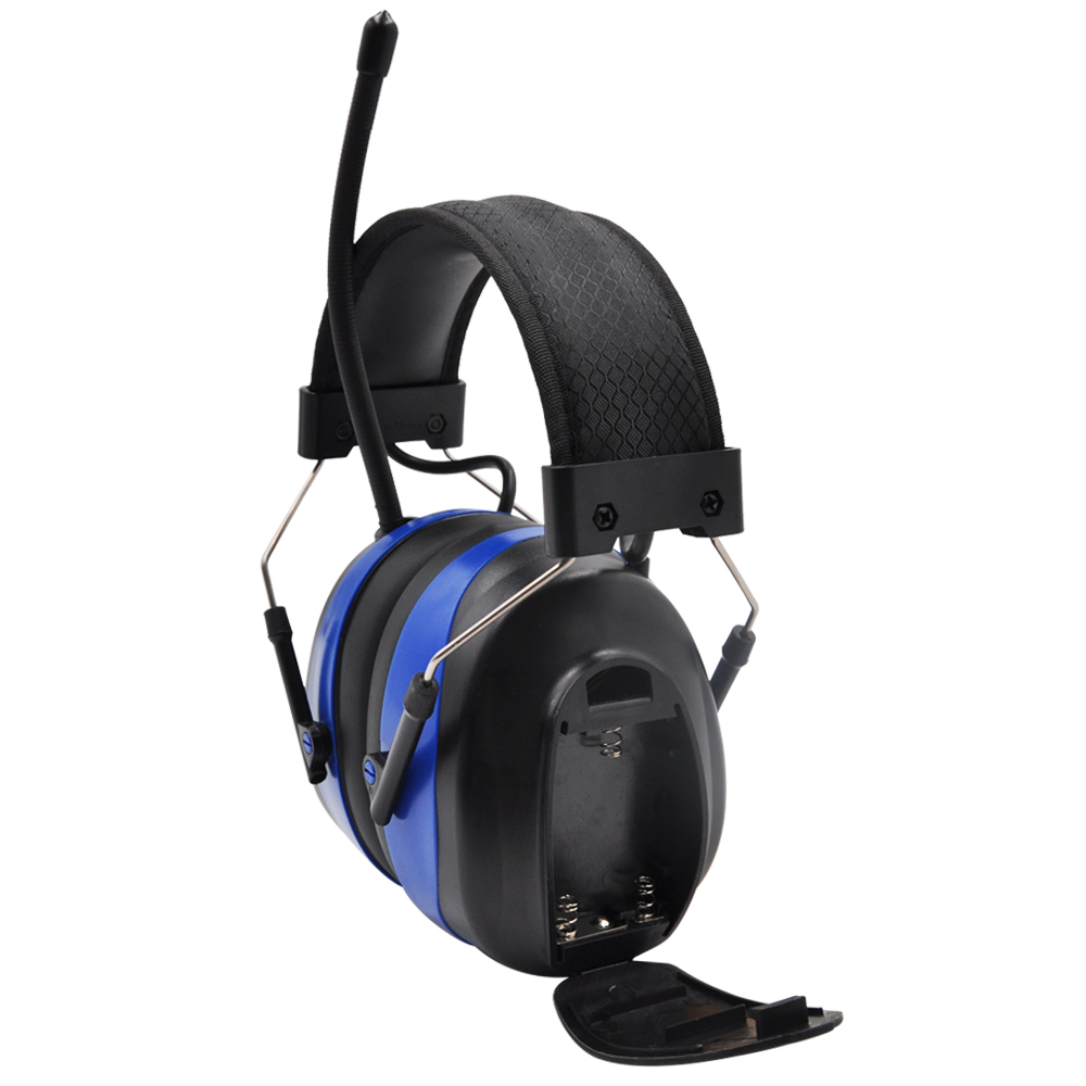 Image 4 - Protear NRR 25dB Hearing Protector Bluetooth AM/FM Radio Earmuffs Electronic Ear Protection Bluetooth Headphone Ear Defender-in Ear Protector from Security & Protection