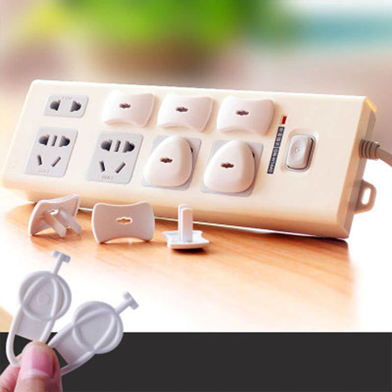 10pcs Power Socket Electrical Outlet Baby Kids Child Safety Guard Protection Anti Electric Shock Plugs Protector Cover