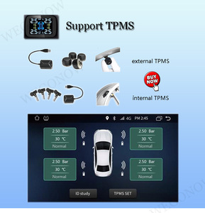 """Image 5 - DSP IPS 9""""Android 10.0 8Core 64G ROM 4G RAM Car DVD Player GPS map RDS Radio wifi 4G Bluetooth 5.0 for Hyundai IX35 Tucson 2018"""