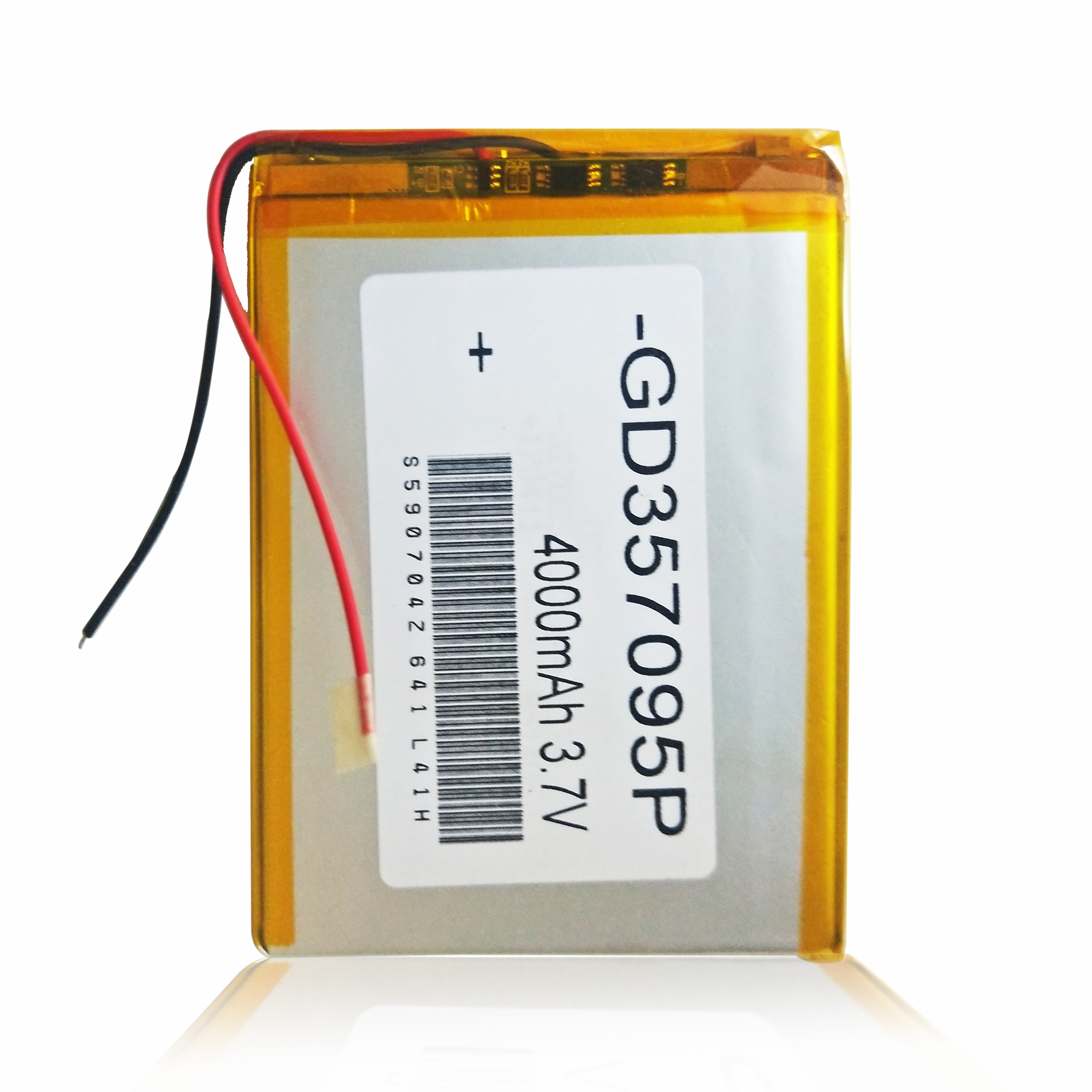 357090 3.7V 4000mAh Rechargeable Li-Polymer Li-ion Battery For Dexp Ursus L180 L 180