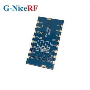 Image 3 - 2 adet/grup RF4463F30 1W 30dBm Si4463 çip 433MHz gömülü FSK kablosuz RF modülü