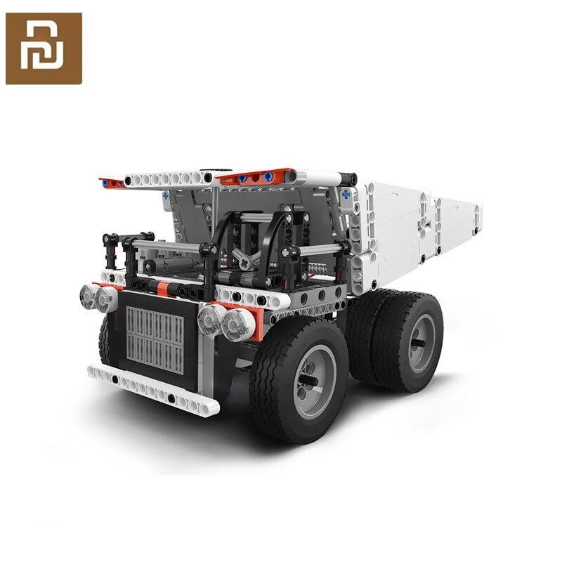 Nuovo Youpin Block Robot Miniera Camion Per I Bambini di Controllo del Volante Discarica Ascensore Prodotti E Attrezzature Smart Per Il Controllo Remoto Xaomi Xiami Xiomi