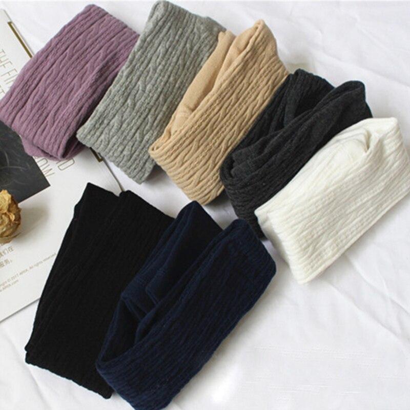 Autumn Winter Warm Girls Star Print Leggings Velvet Thicken Pants Kids Children Elastic Waist Girls Trouser Clothing For 3-8 Yrs