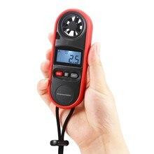 Водонепроницаемый Анемометр ручной измеритель скорости ветра измерительные приборы измерения температуры воздушный поток термометр реагирует на ветер