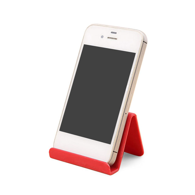 1pcs Universal Plastic Phone Holder Stand Base For IPhone 8 X For Samsung For Xiaomi Smartphone Candy Color Mobile Phone Bracket 3