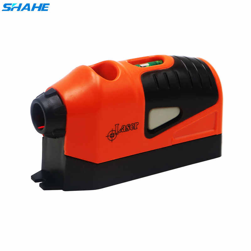 Shahe Rode Verticale Laser Lever Guided Waterpas Tool Laser Nauwkeurige Multifunctionele Laser Level Meetinstrument
